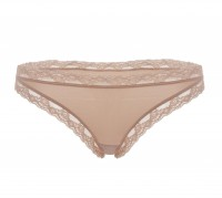 NUDE TANGA S KRAJKOU STRING Like it!